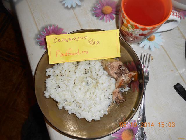 Рецепт Вкусный диетический рис рецепт с фото