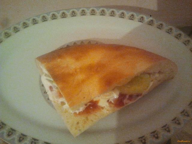 Рецепт Хот-дог из толстого лаваша в мультиварке рецепт с фото