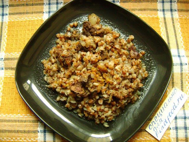 Рецепт гречки с курицей в мультиварке с пошагово