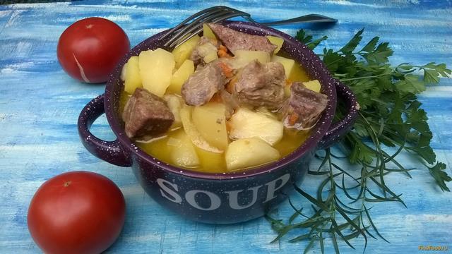 Рецепт Жаркое из свинины и печени в мультиварке рецепт с фото