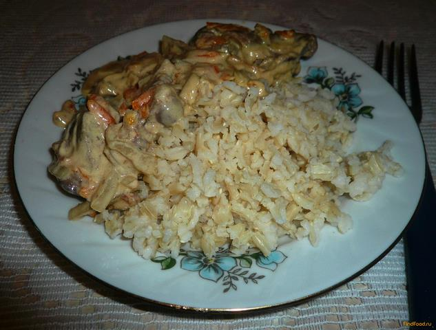 Рецепт Бурый рис в мультиварке рецепт с фото