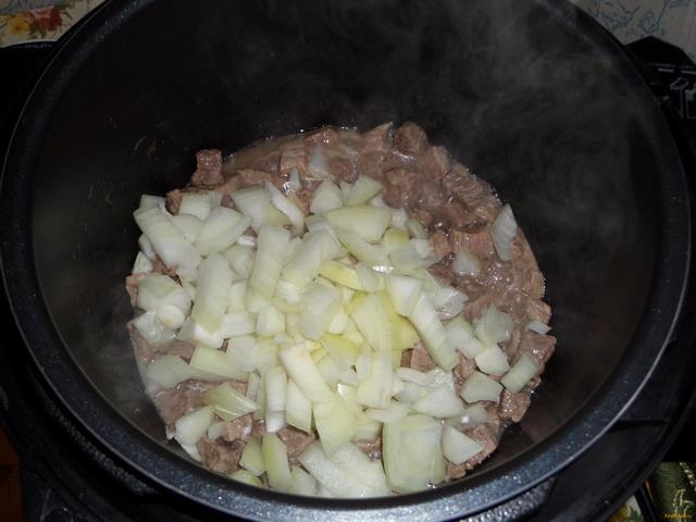 рецепт приготовления плова в мультиварке из говядины