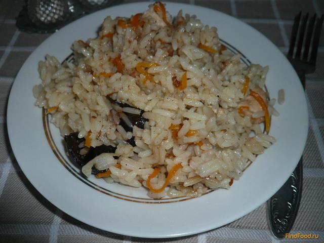 Рецепт Рисовая каша с куриной грудкой и черносливом рецепт с фото