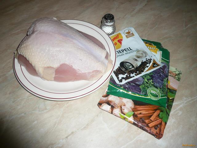 Куриная грудка на пару рецепт с фото 1-го шага