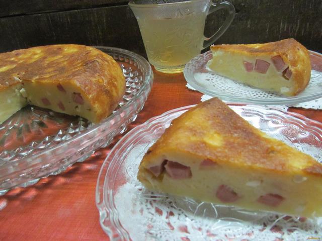Рецепт Закусочный пирог в мультиварке рецепт с фото