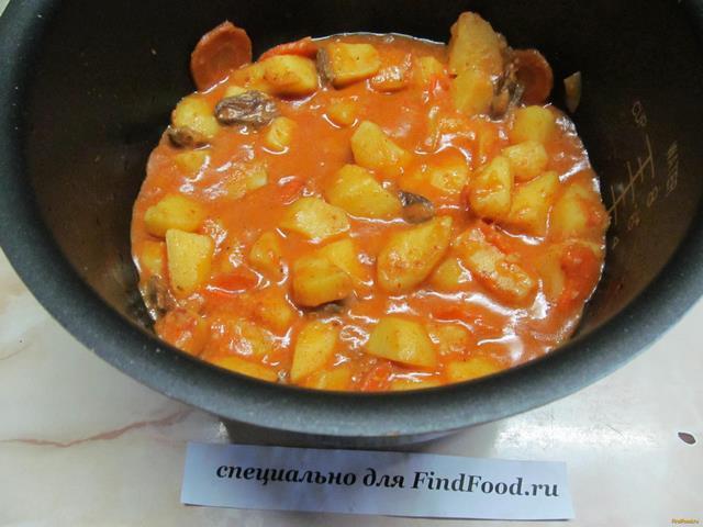 Что приготовить из куриных сердечек в мультиварке с картошкой