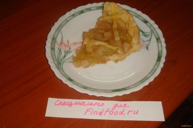 Яблочно-грушевый пирог с сельдереем в мультиварке рецепт с фото 9-го шага