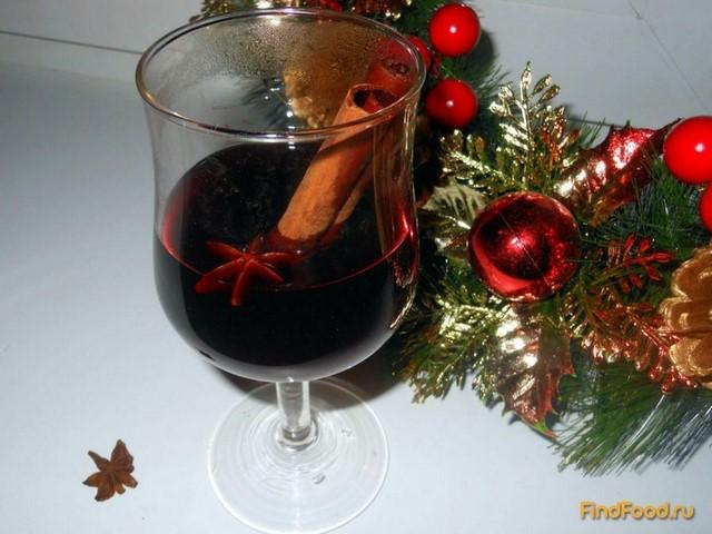 Рецепт Рождественский глинтвейн рецепт с фото