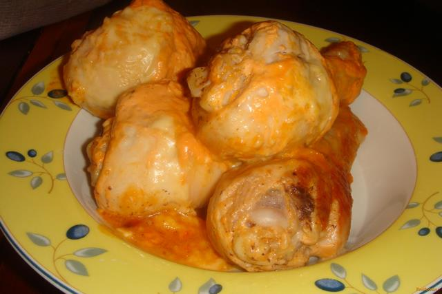 Рецепт Куриные ножки запеченные с сыром в мультиварке рецепт с фото