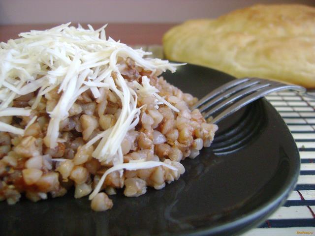 Рецепт Гречка с томатной пастой и сыром в мультиварке рецепт с фото