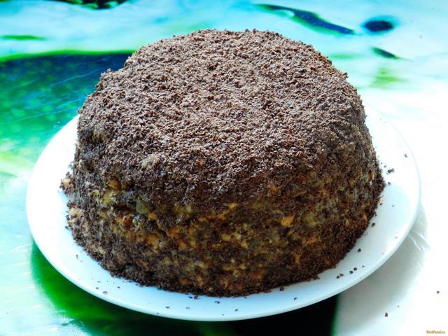 торт муравейник из печенье рецепт с фото