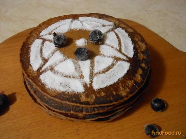 Рецепт Американские шоколадные блины рецепт с фото
