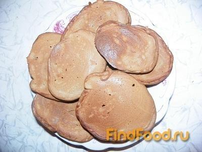 Рецепт Шоколадные оладьи-панкейки рецепт с фото