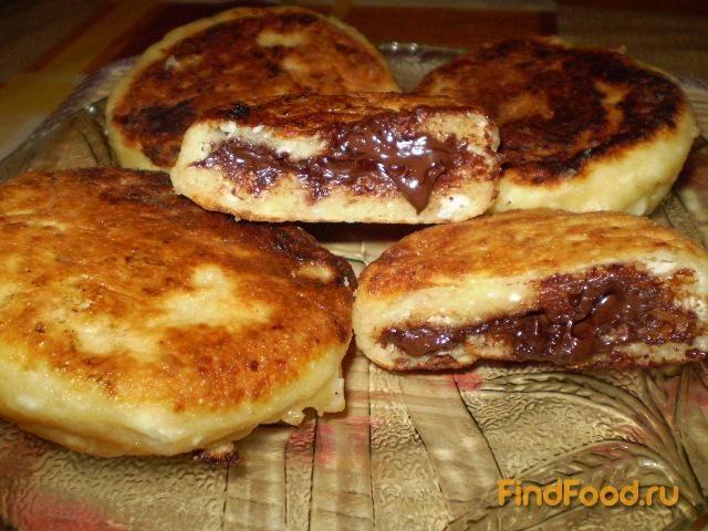 Рецепт Сырники с шоколадом рецепт с фото