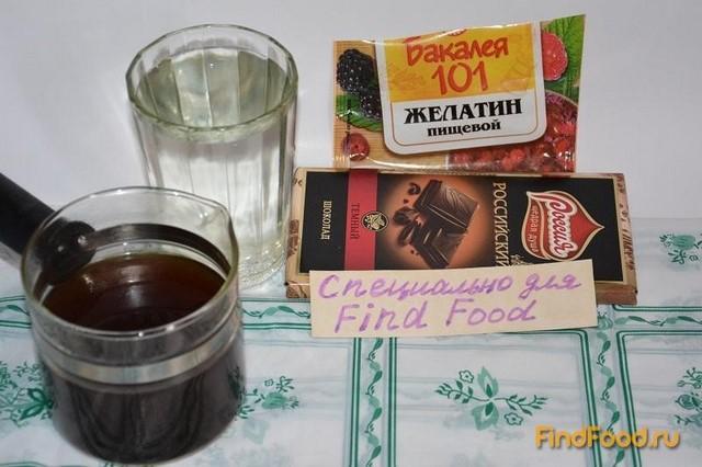 рецепт желе слаёное шеколадно-кофейное