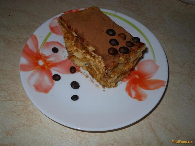 Рецепт Тирамису с маскарпоне и коньяком рецепт с фото