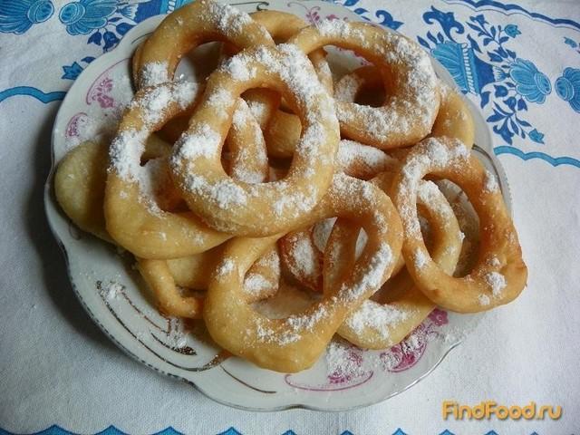 Рецепт Сладкие пончики рецепт с фото