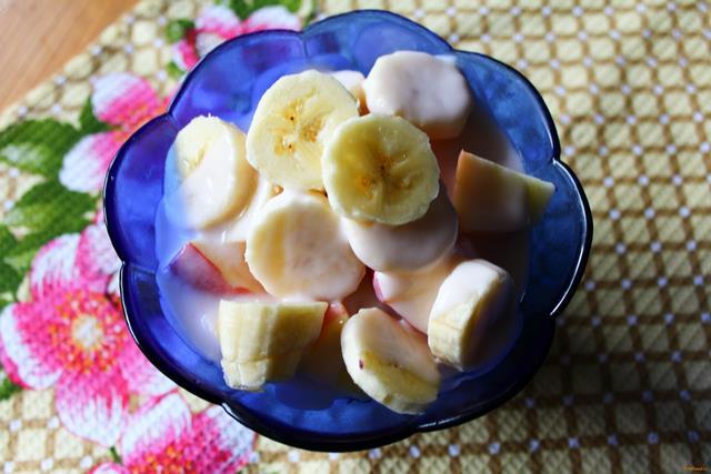 легкий фруктовый салат рецепт фото