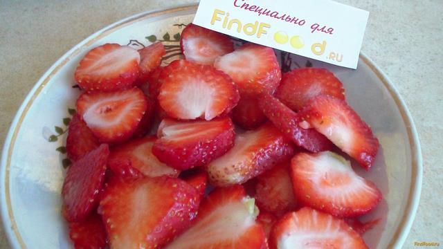 Рецепт со свежей клубникой