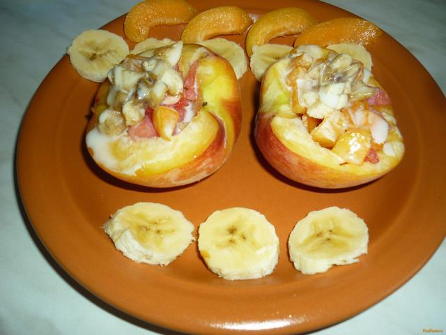 Рецепт Фаршированные персики рецепт с фото