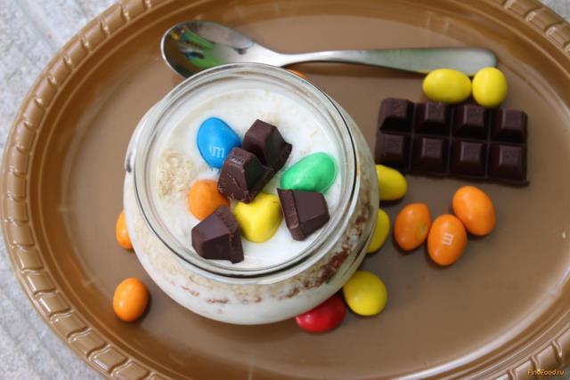 Рецепт Шоколадная ленивая овсянка рецепт с фото