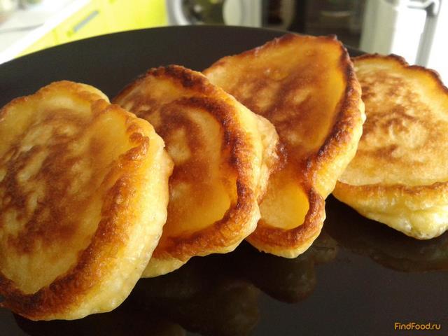 Рецепт Оладушки на сыворотке рецепт с фото