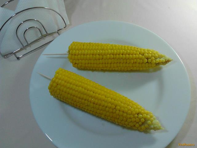 Рецепт Вареная кукуруза с медом рецепт с фото