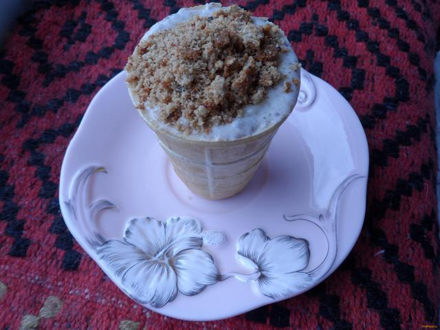 Рецепт Бананово - сливочное мороженое с сюрпризом рецепт с фото