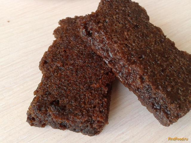 Рецепт Шоколадное пирожное в сахарном сиропе рецепт с фото