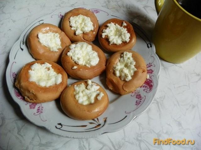 Рецепт Ванильные бублики с творогом рецепт с фото
