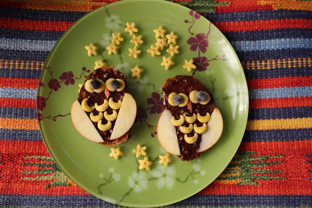 Рецепт Бутерброд сова рецепт с фото