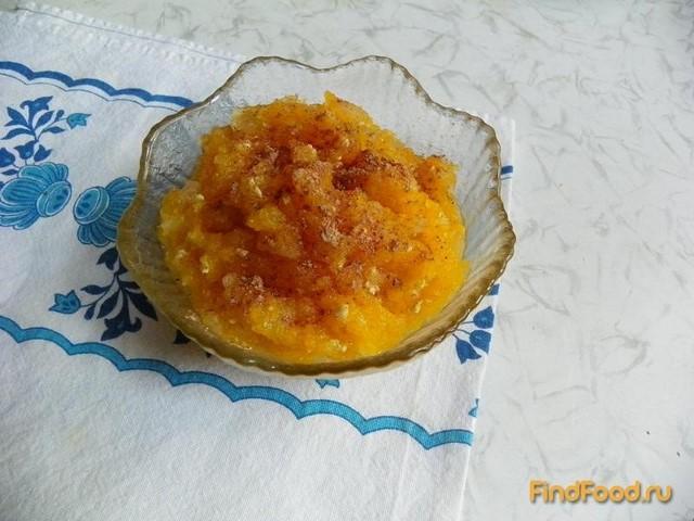 Рецепт Тыквенно - яблочная каша рецепт с фото