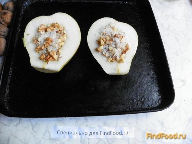 груша в духовке рецепт с фото