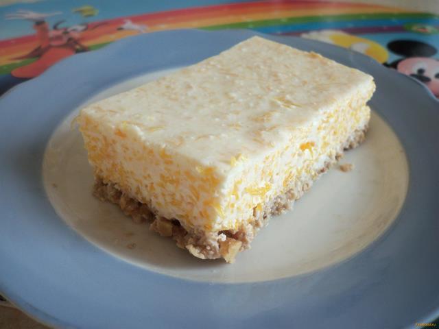 Рецепт Творожно - тыквенный десерт рецепт с фото