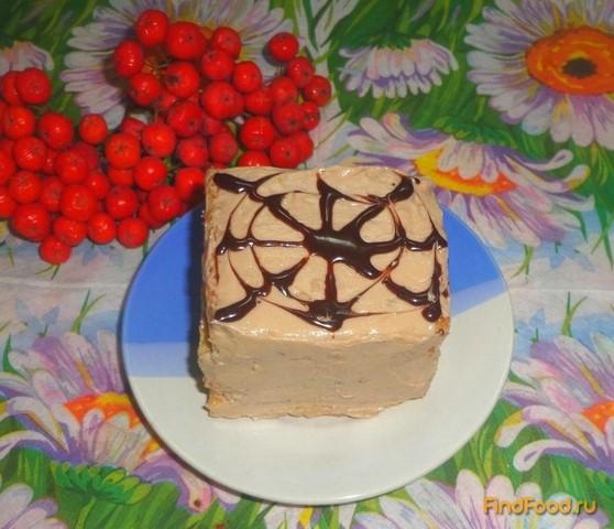 Рецепт Пирожные с шоколадно-масляным кремом рецепт с фото