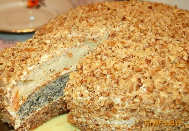 Трехслойный тортик рецепт с фото 10-го шага