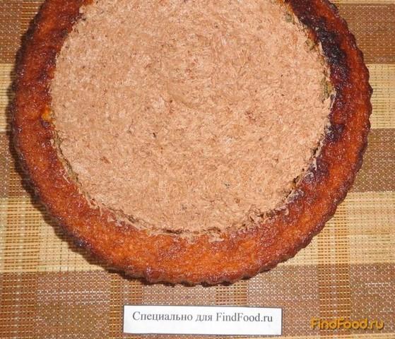 Бисквитный торт с шоколадным кремом рецепт с фото 16-го шага