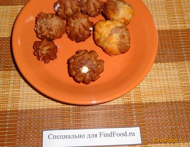 Шоколадно - кофейные профитроли рецепт с фото 11-го шага
