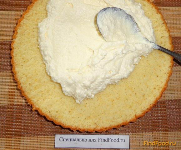 Творожный торт с творожным кремом рецепт пошагово