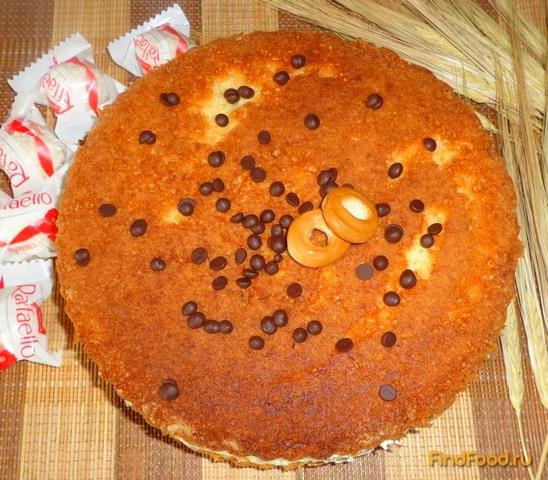 торт с шоколадным заварным кремом рецепт с фото