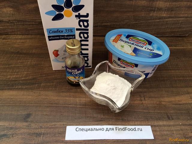 рецепт сырно-творожного крема для торта