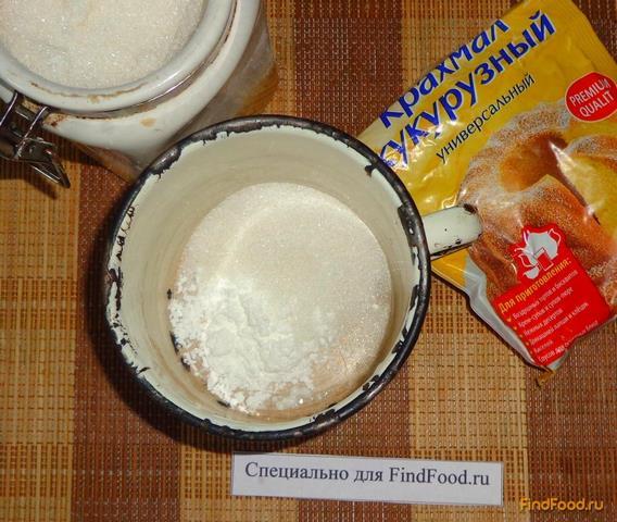 Рецепт кекса с крахмалом