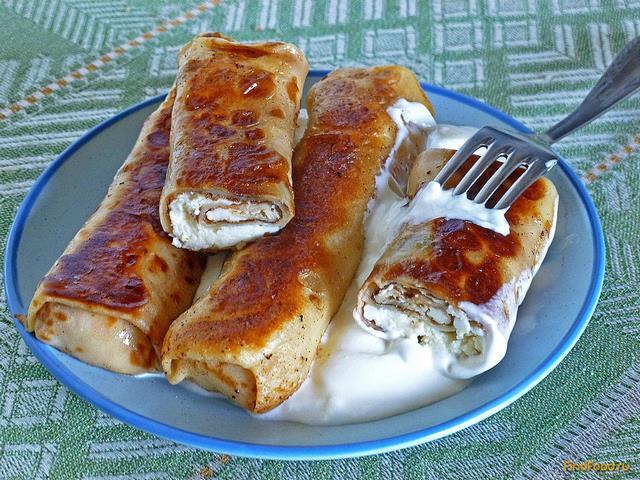 Рецепты блинов с начинкой пошагово с фото