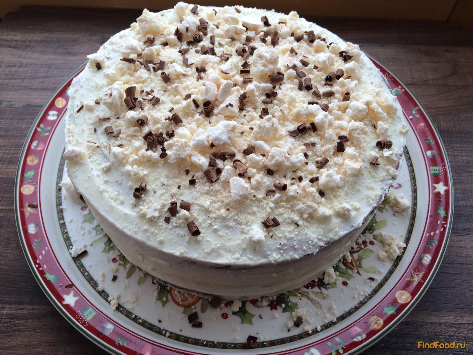 торт с коржами рецепт с фото в мультиварке