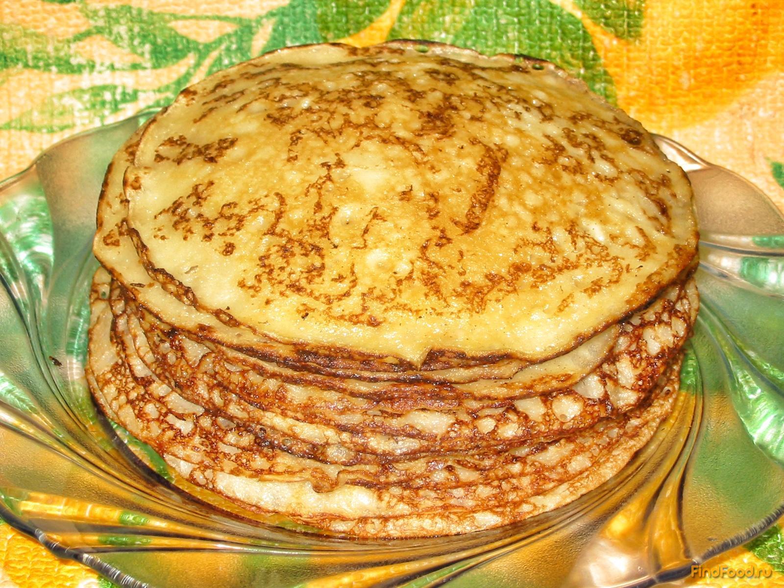 Рецепты блинчиков на кефире пошагово