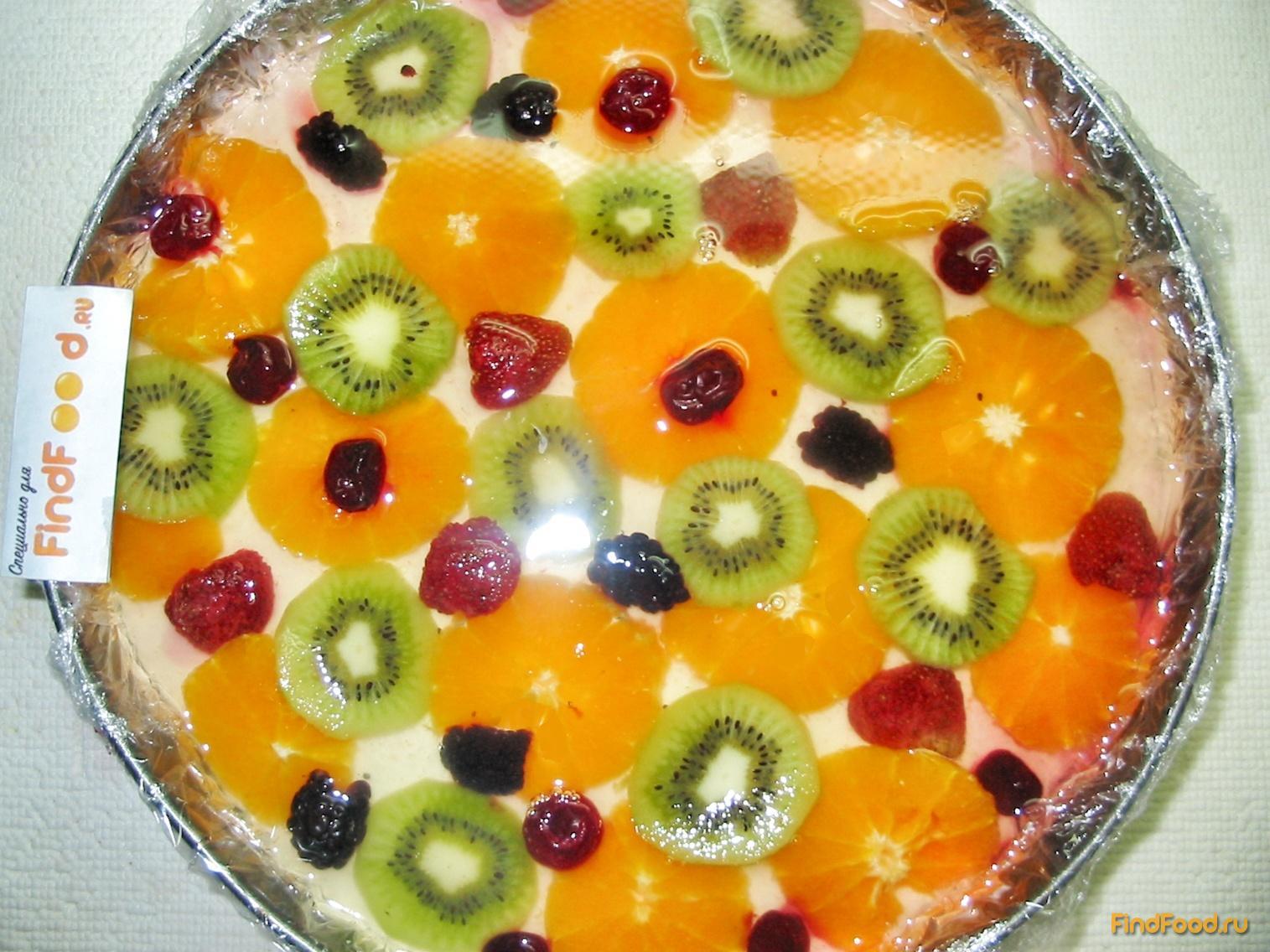 торт из фруктов рецепт с фото
