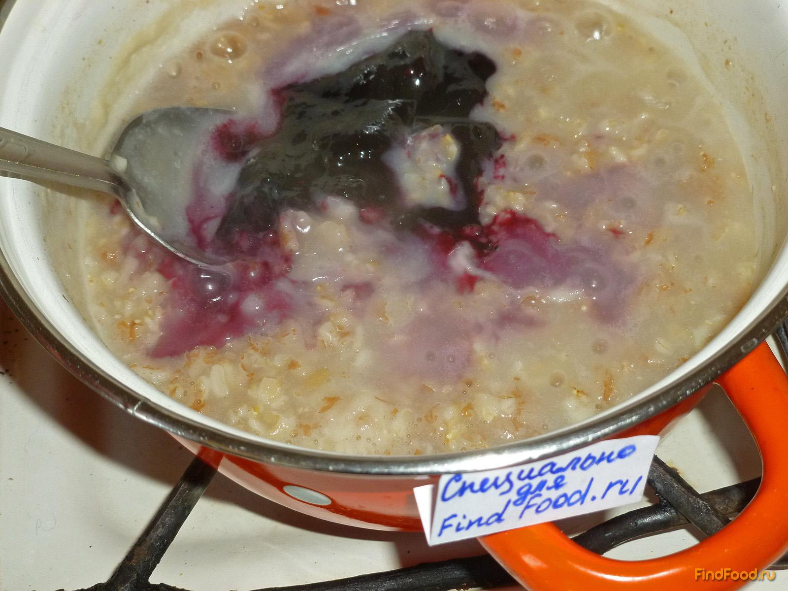 Овсяная каша в мультиварке на воде рецепт с фото 5