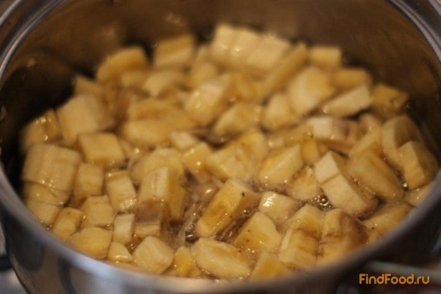 Банановые бурфи рецепт с фото 1-го шага