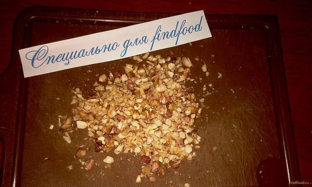 Творожная масса с орехами и нектарином рецепт с фото 4-го шага