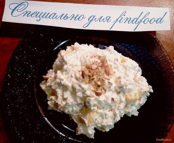 Творожная масса с орехами и нектарином рецепт с фото 6-го шага